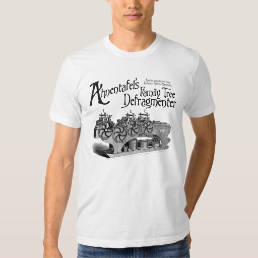Family Tree Defragmenter Tee Shirt