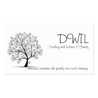 Family Tree DWIL Card