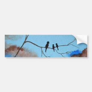 Family Tree From Original Painting Bumper Sticker