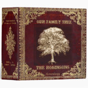 Family Tree Genealogy Album Binder (<em>$24.15</em>)