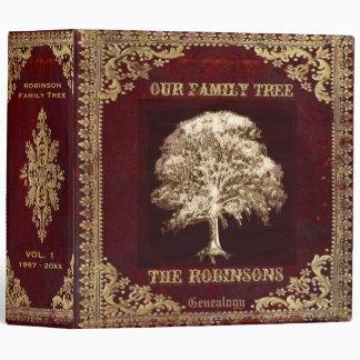 Family Tree Genealogy Album Binder
