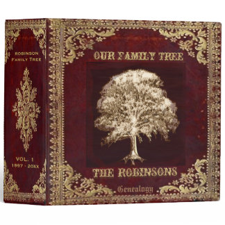 Family Tree Genealogy Album Binder