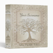 Family Tree Genealogy Album Binder (<em>$22.00</em>)