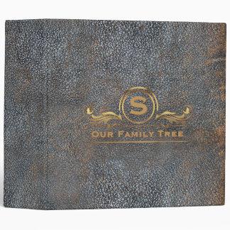 Family Tree Genealogy | Antique Vintage Leather Binder