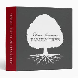 Family tree genealogy binders for genealogist