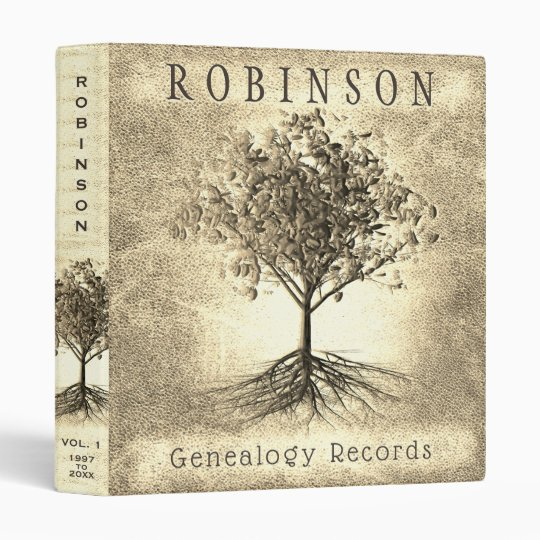 Family Tree Genealogy Records Album 3 Ring Binder