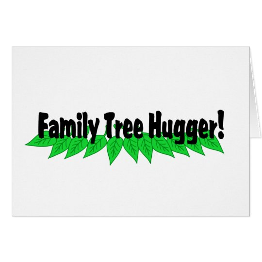 Family Tree Hugger Card