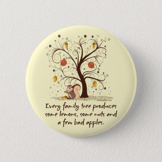 Family Tree Humor Button