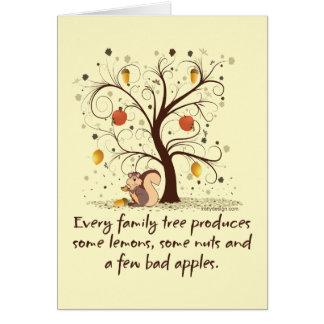 Family Tree Humor Card