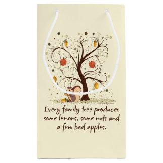 Family Tree Humor Small Gift Bag