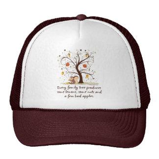 Family Tree Humor Trucker Hat