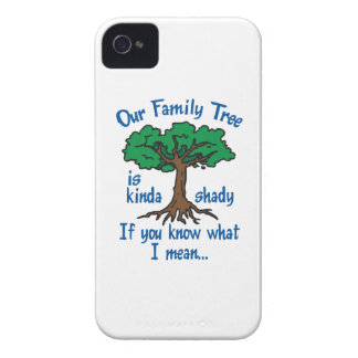 FAMILY TREE IS SHADY iPhone 4 COVERS