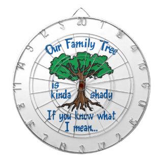 FAMILY TREE IS SHADY DART BOARDS