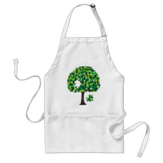Family Tree Jigsaw Puzzle Adult Apron