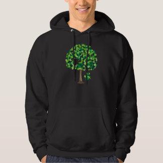 Family Tree Jigsaw Puzzle Hooded Sweatshirt