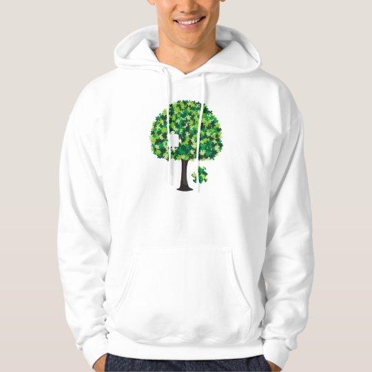 Family Tree Jigsaw Puzzle Hoodie
