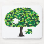 Family Tree Jigsaw Puzzle Mouse Pads