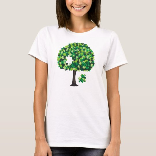 Family Tree Jigsaw Puzzle T-Shirt
