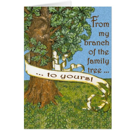 Family Tree Notecards