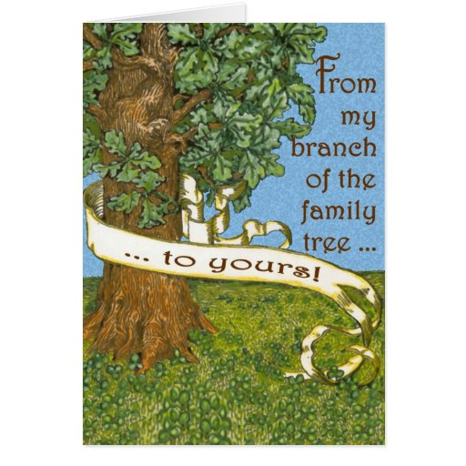 Family Tree Notecards Stationery Note Card