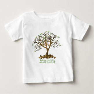 Family Tree Nuts Baby T-Shirt