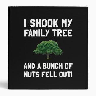 Family Tree Nuts Binder