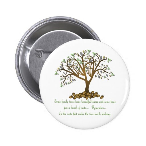 Family Tree Nuts Button
