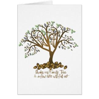 Family Tree Nuts Card