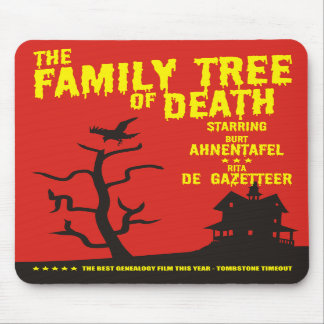 Family Tree Of Death Mouse Pads
