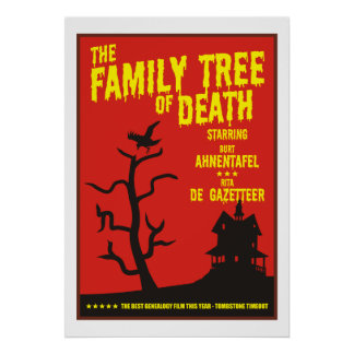Family Tree Of Death Poster