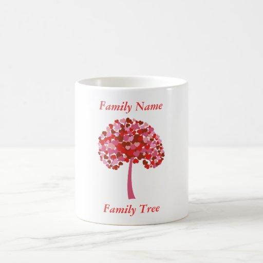 Family Tree Of Hearts Shirt - Custom Coffee Mug