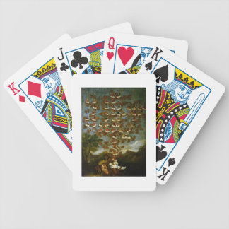 Family Tree of the Cornaro Family Bicycle Playing Cards