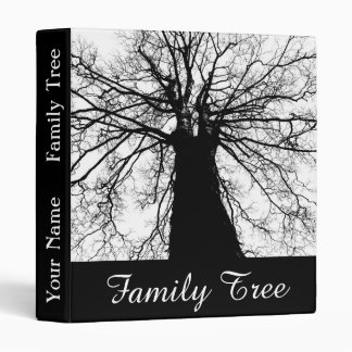 Family Tree Personalized Name Binder