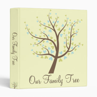 Family Tree Photo/History Album 3 Ring Binder