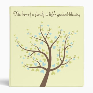 Family Tree Photo or History Album 3 Ring Binder