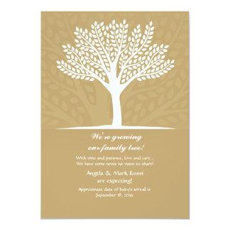 Family Tree Pregnancy Announcement
