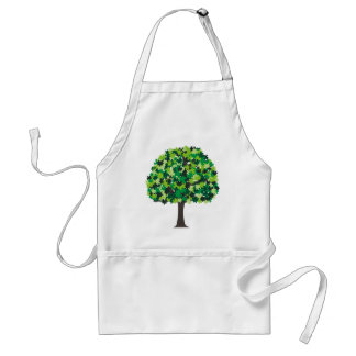 Family Tree Puzzle Adult Apron