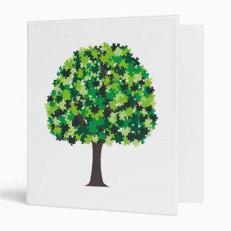 Family Tree Puzzle Vinyl Binder