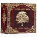 Family Tree   Records 3 Ring Binder