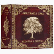 Family Tree | Records 3 Ring Binder (<em>$24.15</em>)