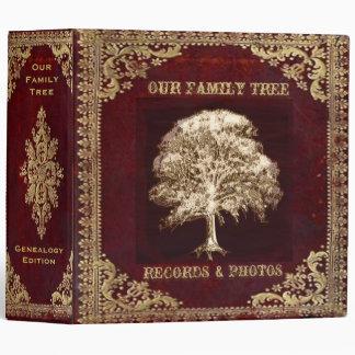 Family Tree | Records 3 Ring Binder
