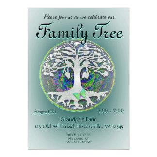 Family Tree Reunion Card