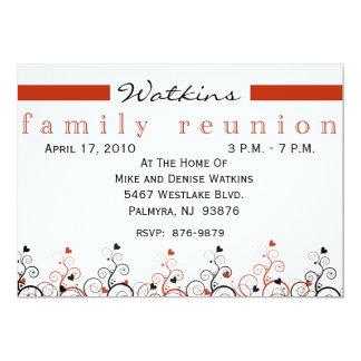 Family Tree Reunion Invitation-+ Card