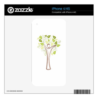 Family Tree Skin For iPhone 4S