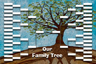 family tree posters photo prints zazzle