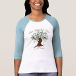 Family Tree Twisted T-shirts