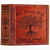 Family Tree | Vintage Genalogy Binder (<em>$24.15</em>)