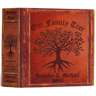 Family Tree | Vintage Genalogy Binder