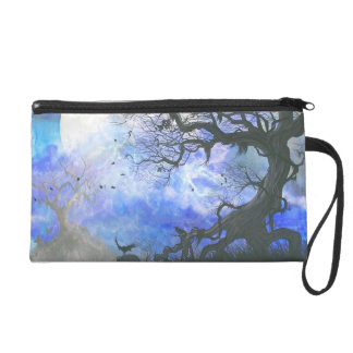Family Tree Wristlet Purse