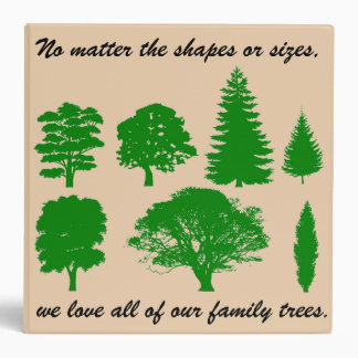Family Trees - Genealogy Book (Can be Customized) Binder